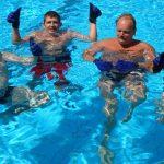 zwembad de dubbel aquajoggen