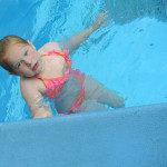 zwembad de dubbel prive-les