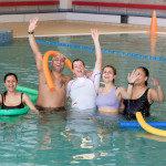 zwembad de dubbel zwemles-volwassenen